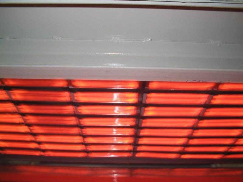 Forno para termoformagem