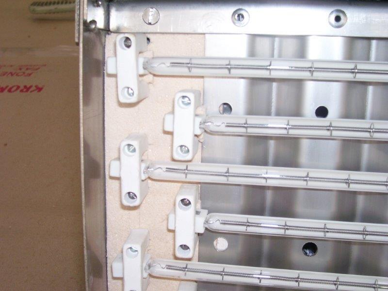 Resistência elétrica para estufa