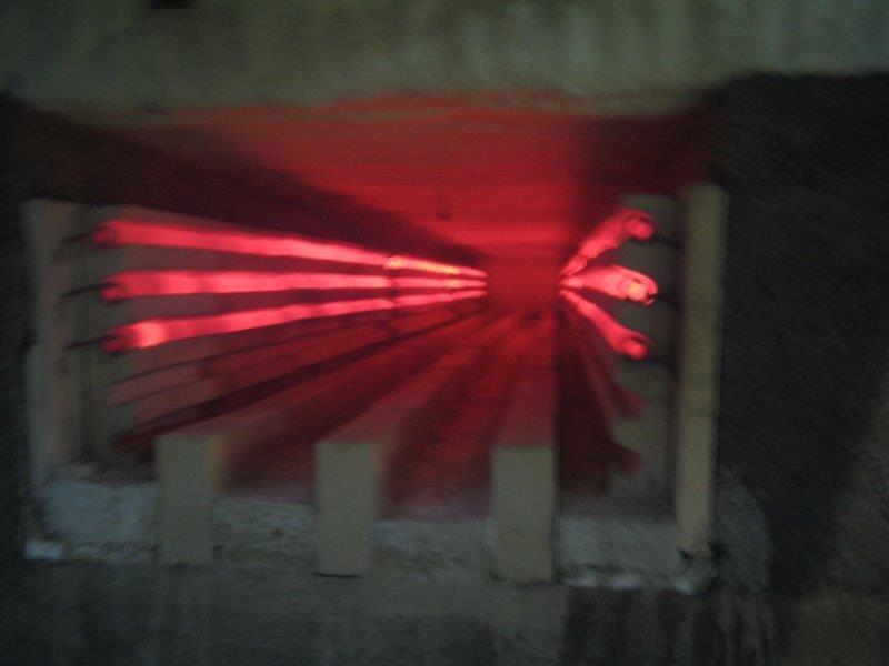Resistência elétrica industrial