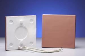Emissores Infravermelho em Cerâmica 165x165mm
