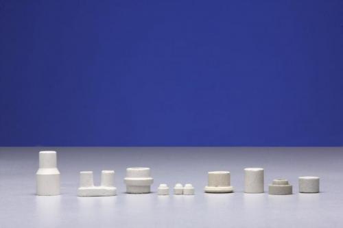 Isoladores e Suportes em cerâmica